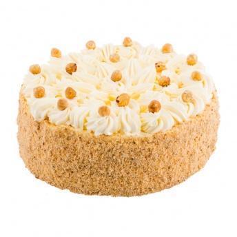 Hazelnoot creme taart