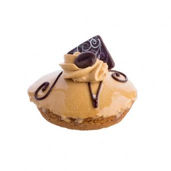 Harde mokka gebak