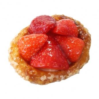 Aardbeien schelp